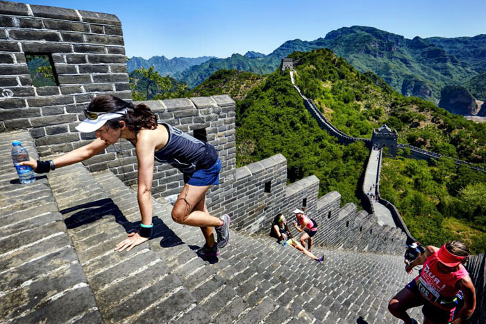 Great Wall of CHina Marathon: Huangyaguan