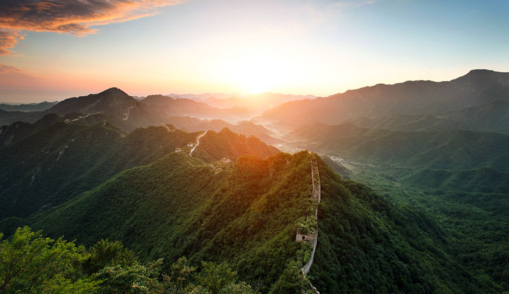 Jiankou Great Wall Sunrise
